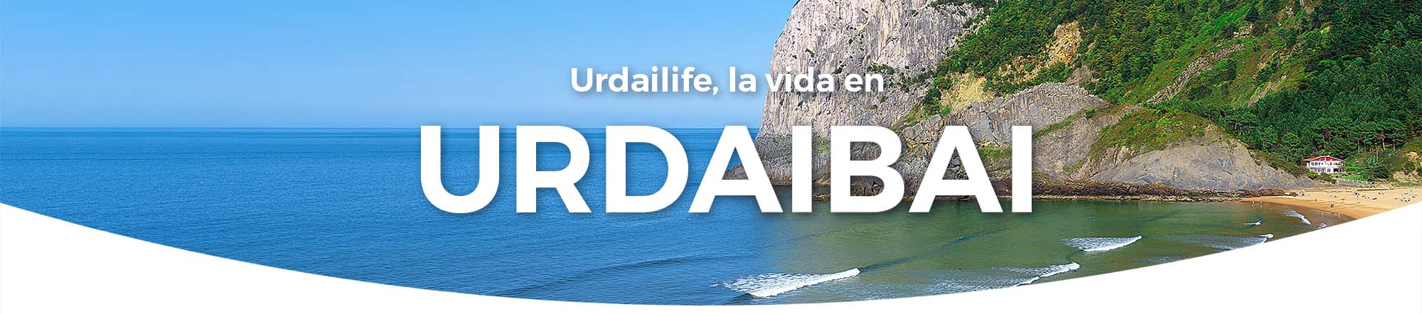 Cabecera web Urdailife. Ogoño y playa de Laga