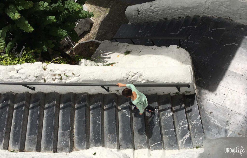 Ruta de un día en Bermeo - Escaleras - Baztarreko eskilarak