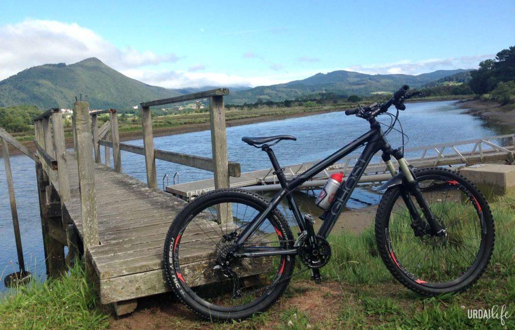 Ruta fácil en bici Embarcaderos de Murueta