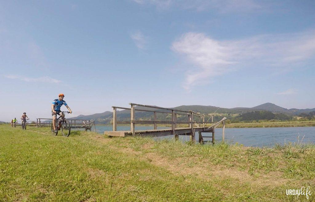 Ruta en bici Embarcaderos de Murueta