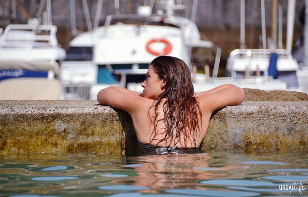Dónde bañarse en Elantxobe. Piscina natural (Urdaibai, Bizkaia, Euskadi)