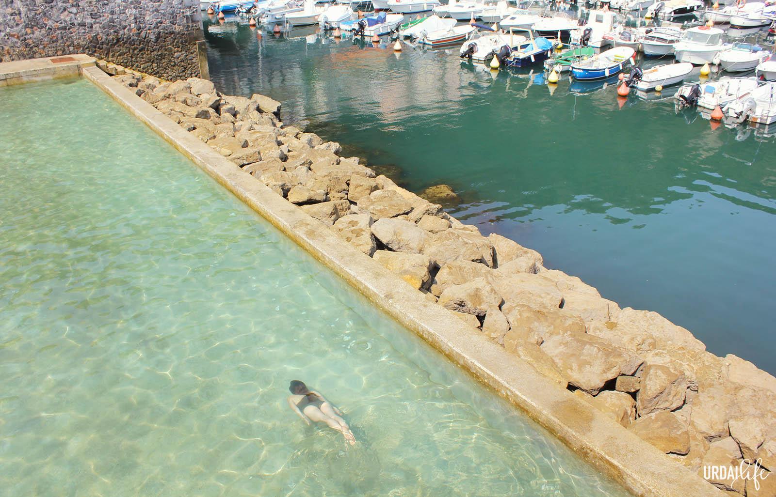 Un d a en elantxobe urdailife for Piscina natural de puerto santiago