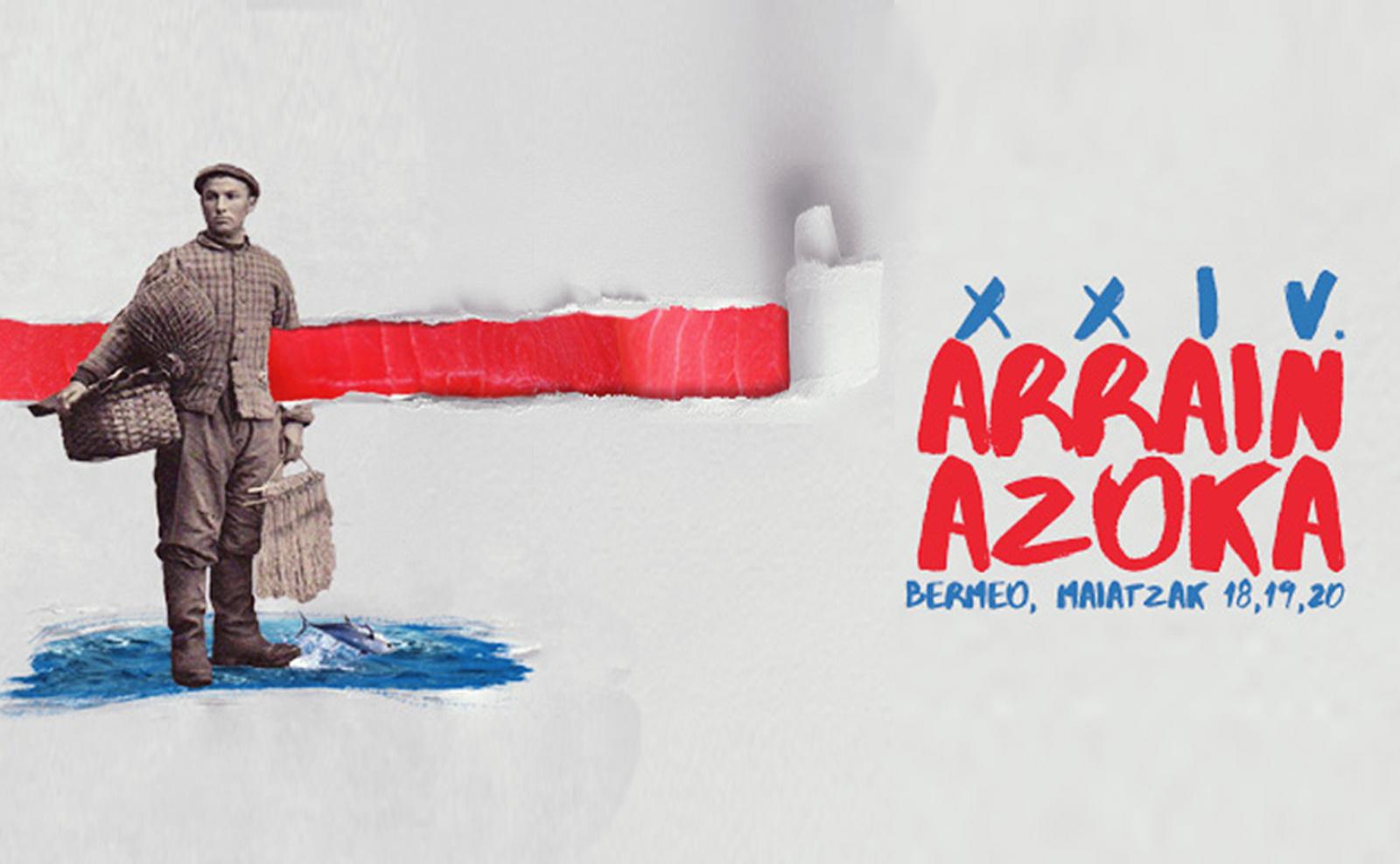 Cartel 2018 del Arrain Azoka, Feria del pescado