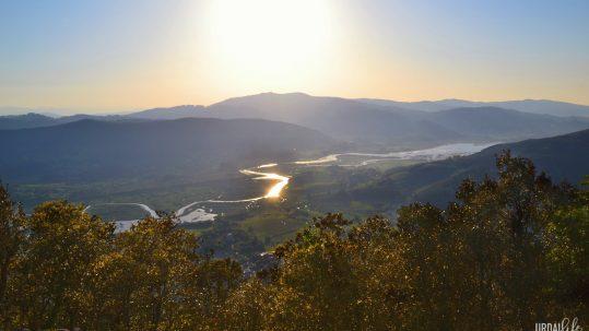 Vistas desde San Miguel de Ereñozar. Ría de Gernika.