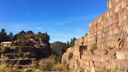 Vistas en la Cantera de Ereño, en Arteaga