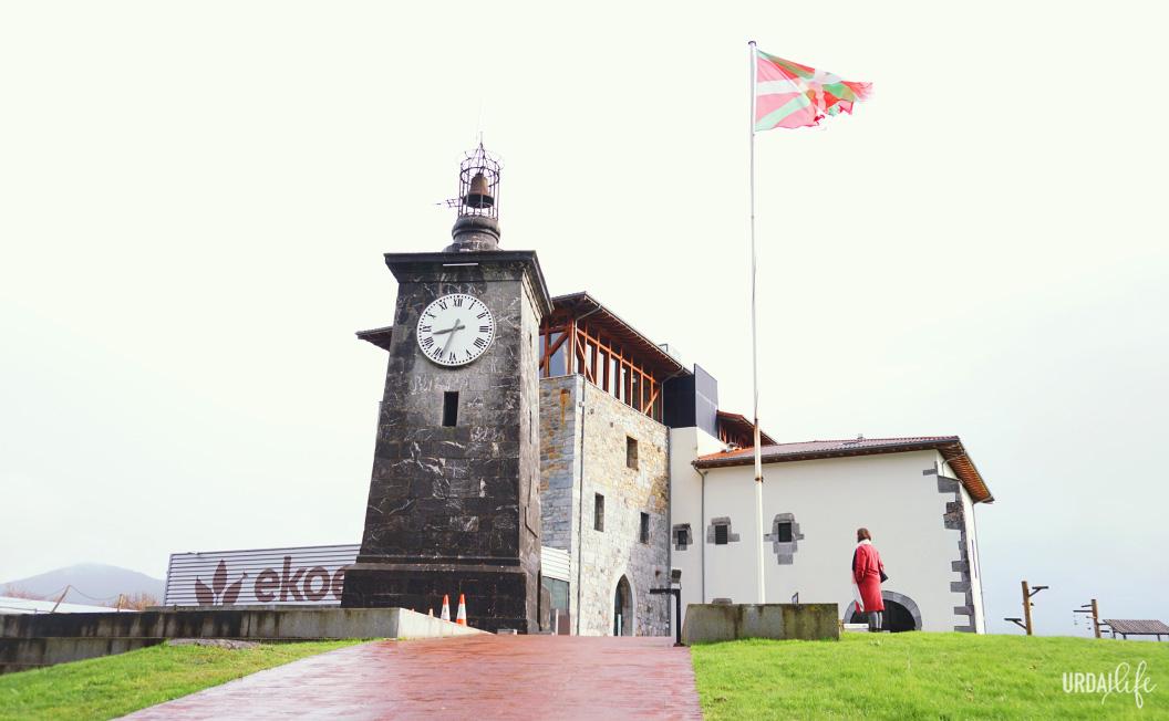 Vista del edificio de Ekoetxea, Torre Madarriaga.