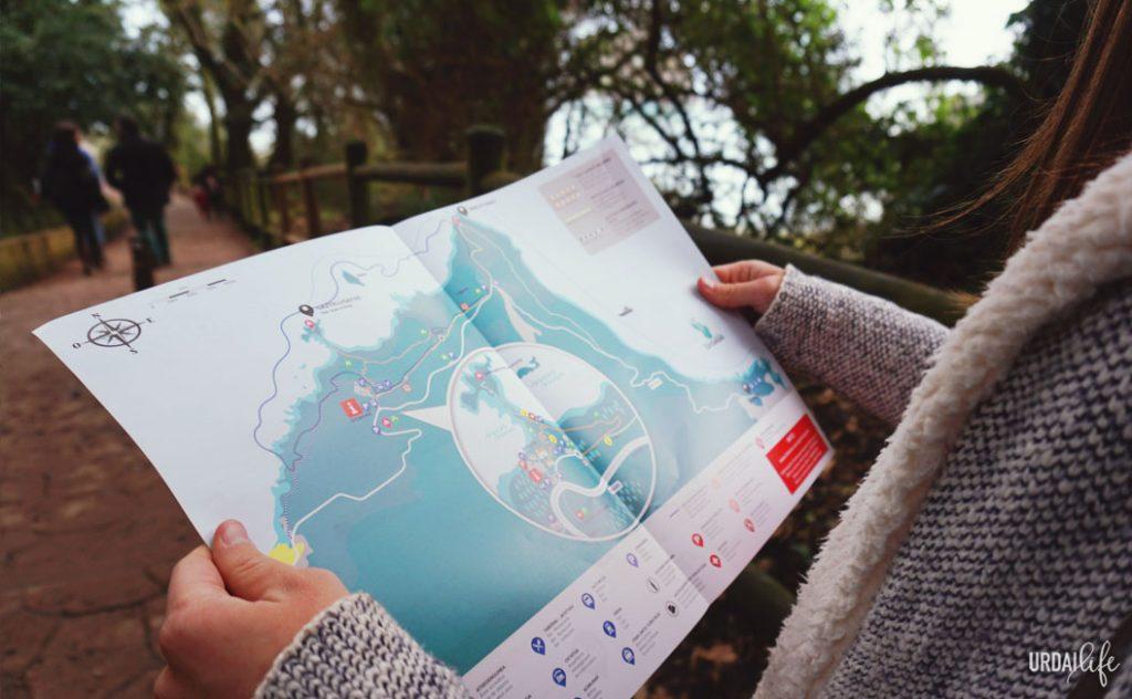 Mapa turístico de San Juan de Gaztelugatxe